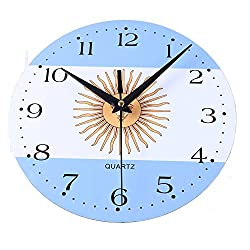 Creative Style Non-Ticking Silent Antique Wood Wall Clock for Home Kitchen