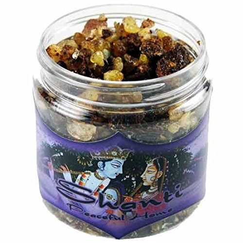 Resin Incense Shanti - Peaceful Home - 2.4oz jar - incensecentral.us