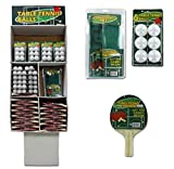 134-Pc Ping Pong Set Floor Display