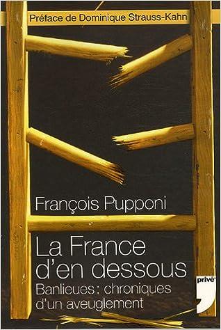Télécharger en ligne La France d'en dessous : Banlieues : chroniques d'un aveuglement pdf, epub ebook