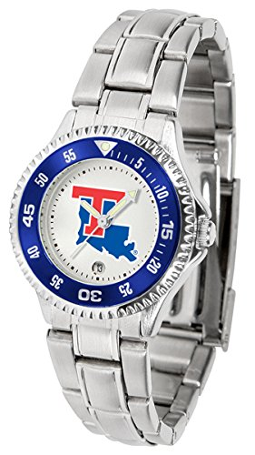 Bulldogs Sport Tech Louisiana Watch (Louisiana Tech Bulldogs Competitor Steel Women's Watch)