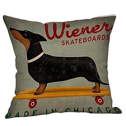 Amazon.com: DAVITU US Warehouse - Cute Animal Print Dog ...