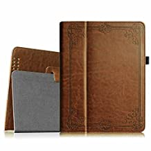 Fintie iPad 2/3/4 Case - Slim Fit Folio Case with Smart Cover Auto Sleep / Wake Feature for Apple iPad 2, the new iPad 3 & iPad 4th Generation with Retina Display, Vintage Antique Bronze