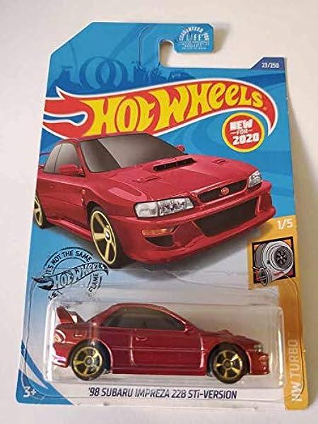Hot Wheels-Subaru Impreza 228 STI-matériel TURBO 1998-1//5 23//250 courtes cardées