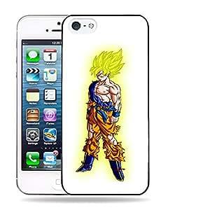 Case88 Designs Dragon Ball Z GT AF Son Goku Super Saiyan Son Goku Protective Snap-on Hard Back Case Cover for Apple iPhone 5 5s