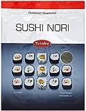 Yutaka Sushi Nori Seaweed 11 g (Pack of 3, Total 25 Sheets)