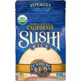 Lundberg Family Farms Organic Sushi Rice, California White, 16 Ounce (Pack of 6)