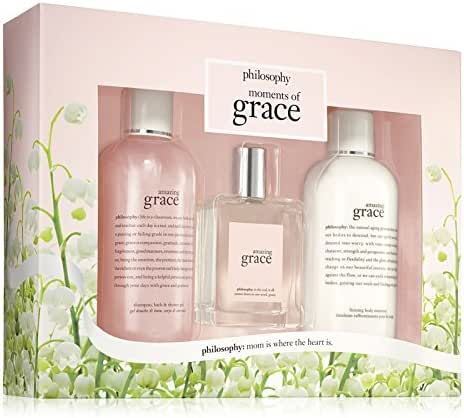 Philosophy Moments of Grace 3 Piece Gift Set for Women