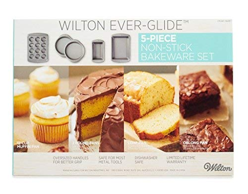 Wilton Ever-Glide 5 Piece Non Stick Bakeware Set