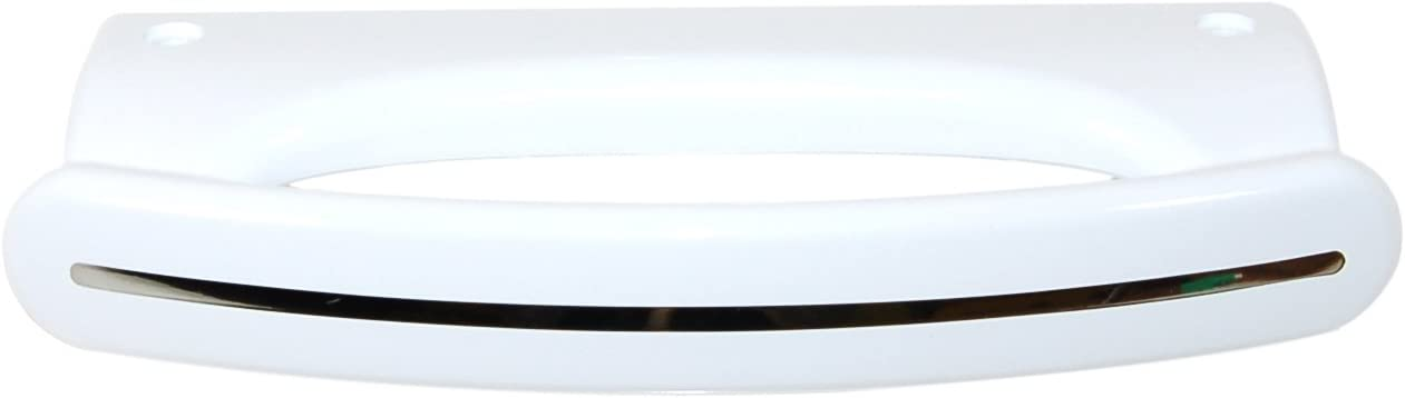 Whirlpool 481246268876 K/ühlschrankzubeh/ör//Refrigeration Wei/ß T/ürgriff