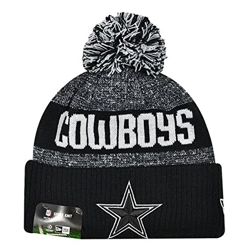 e9e45150bf7 Dallas Cowboys Black Pom Beanie – Football Theme Hats