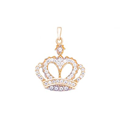 pendant children ass charm crown dp lucky s womens women childrens gold