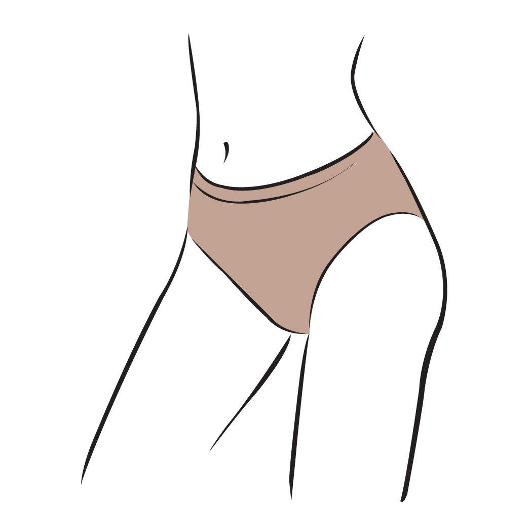 Silky Womens/Ladies Dance Seamless High Cut Brief (1 Garment)