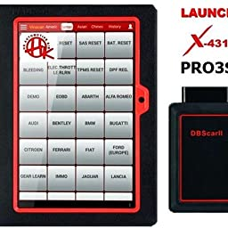 Amazon Com Launch X431 V Full System Scan Tool Upgraded Ver Of X431 V Pro Diagnostic Scanner Bi Directional Code Reader Ecu Coding Key Program 30 Service Functions Oil Reset Abs Bleeding 2 Years