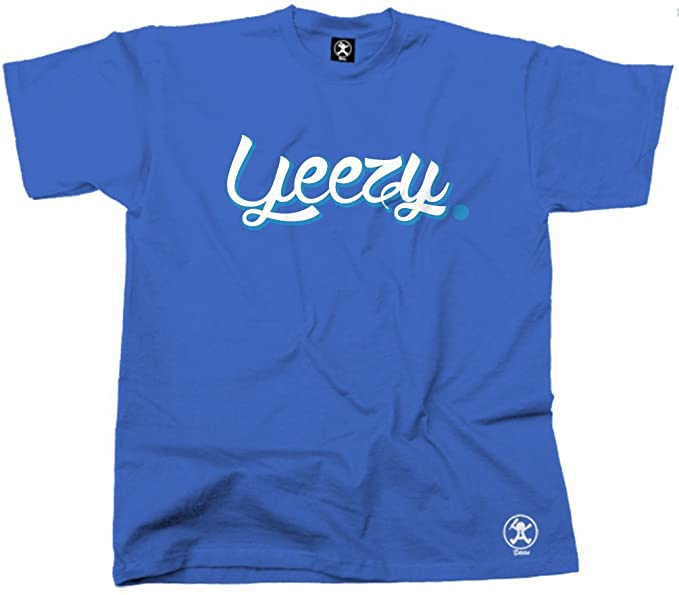 Yeezy Teezy Yay West hip-hop camiseta (azul) de Dibbs Azul azul X-Large: Amazon.es: Ropa y accesorios