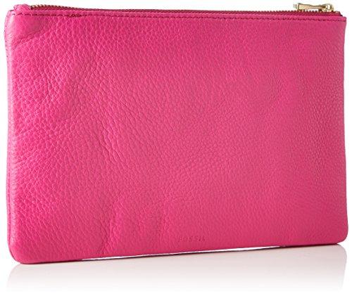 Fossil Damen Wristlets Geldbörse, 14.22x0.64x21.92 cm Pink (Hot Pink)