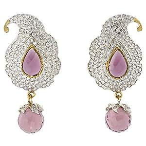 Arabella Luxuries Alloy La Victorienne Tradionelle Drop and Dangle Earring