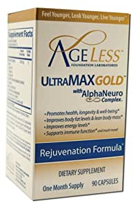 AGELESS: UltraMAX Gold Capsules, 90 count