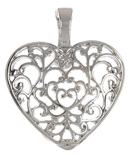 - Wearable Art by Roman Heart Pendant One Size