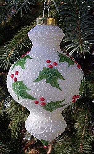 2006 Holly Porcelain Christmas Tree Ornament ()