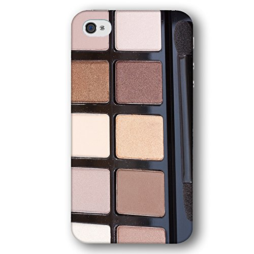 Eyeshadow in Shades of Nude Brown and Chocolate Apple iPhone 4 / 4S Phone Case