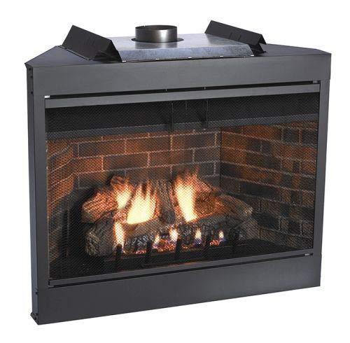 "Empire Comfort Systems Premium MV 42"" Flush Face B-Vent Fireplace - Natural Gas"