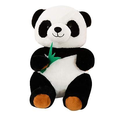 KAWAYI Bamboo Panda, Sweet Soft Panda Plush, Cloth Animal Panda Bear, Panda Soft Animal Doll Toy Gift for Girl, Girlfriend, Friend, Panda Toy for Children,25cm: Home & Kitchen