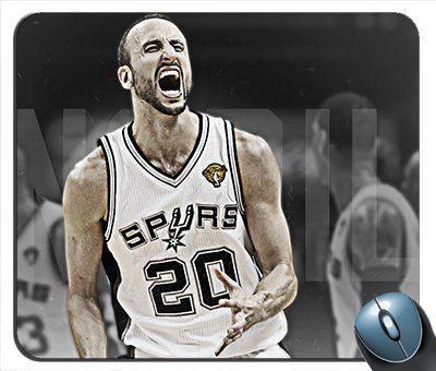Manu Ginobili Spurs The Champ Mouse