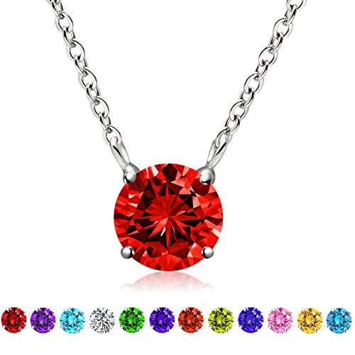 Swarovski Elements Gemstone Birthstone Sterling