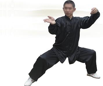 Amazon.com: Tai Chi Uniform - luxurious Korean Silk, stretch ...