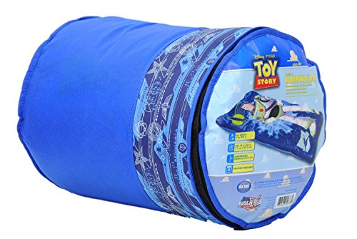 Disney Pixar Toy Story Buzz Lightyear Sleeping Bag (Styles May Vary)