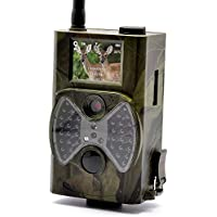 WEIKAILTD Game Hunting Camera 1080P HD,Wildview,PIR Motion Detection, Night Vision, MMS Viewing, 2 Inch Screen