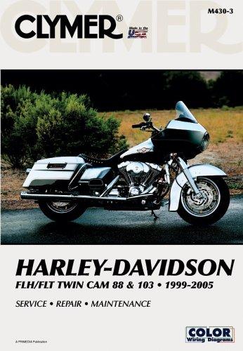 Clymer Harley-Davidson FLH/FLT Twin Cam 88 & 103 1999-2005 (Clymer Motorcycle Repair) -
