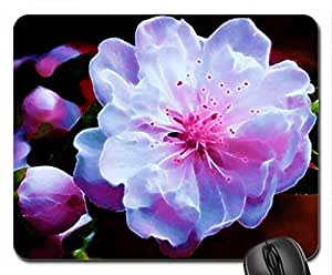 Delciate Mouse Pad, Mousepad (Flowers Mouse Pad, 10.2 x 8.3 x 0.12 inches)