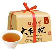 梅府茗家 茶叶 武夷山原产岩茶 大红袍 乌龙茶 大红袍 水仙 150g 岩之素