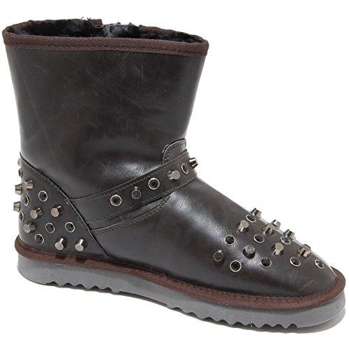 Stivale Colors 84150 Of Boots Testa California Scarpa Donna Di Borchie Women Moro Shoes qBZtRBw