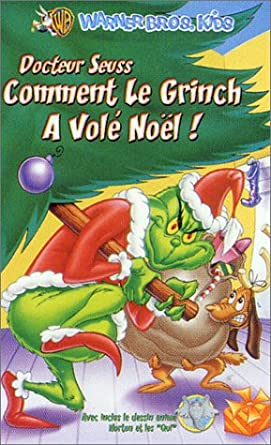 Docteur Seuss Comment Le Grinch A Vole Noel Dessin Anime Amazon