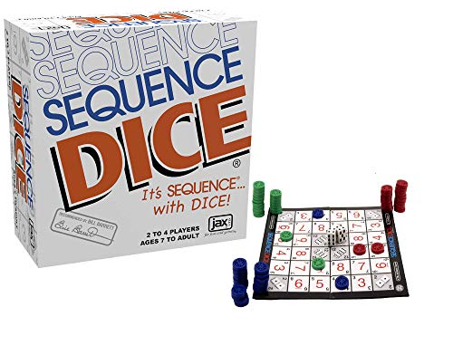 SEQUENCE Dice by Jax - An Exciting Game of Strategy