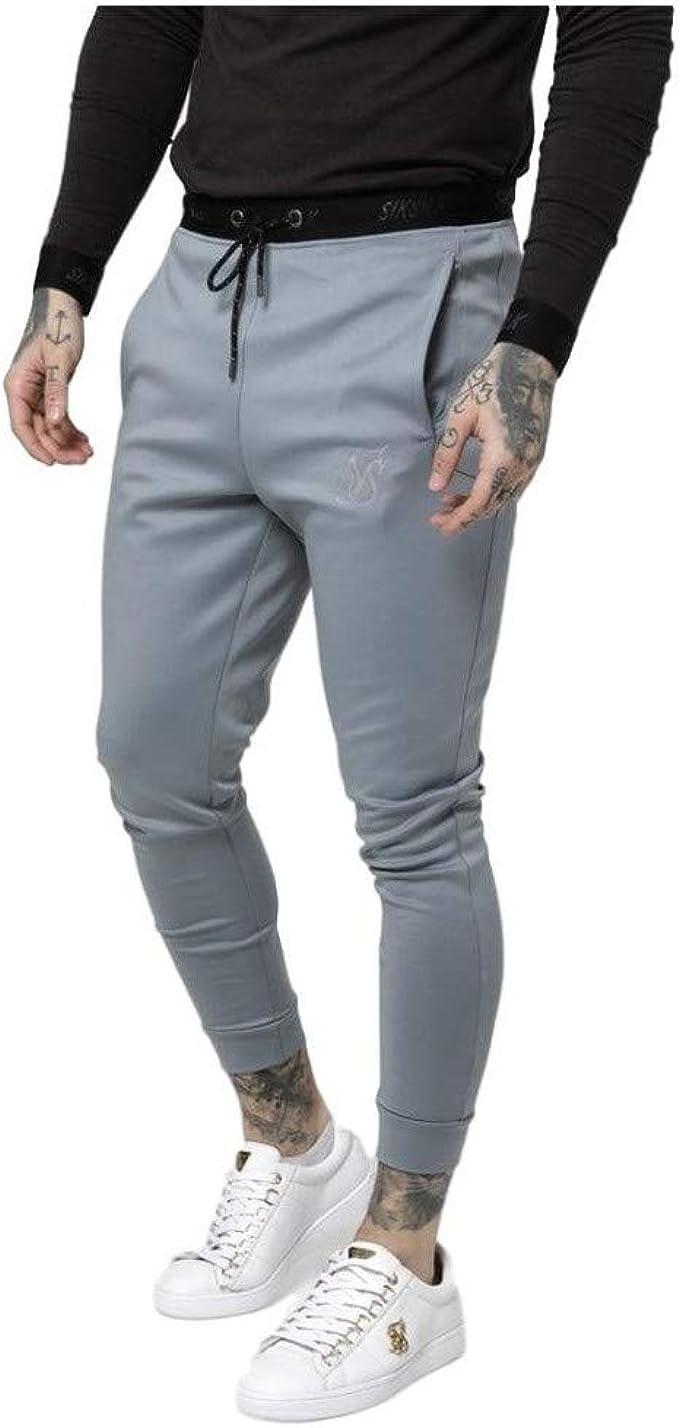 Sik Silk Pantalon de Chandal Agility Gris: Amazon.es: Ropa y ...