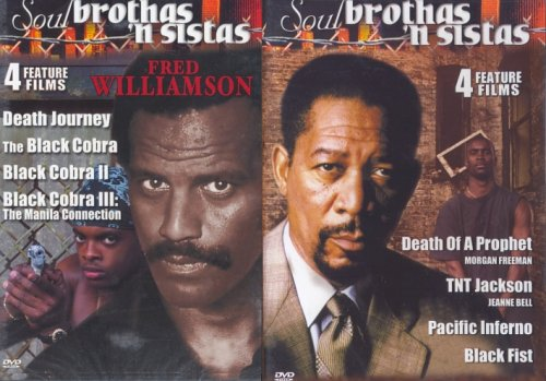 [8 Feature Films DVD Set] Death of a Prophet / Tnt Jackson / Pacific Inferno / Black Fist / Death Journey / Black Cobra / Black Cobra 2 / Black Cobra 3