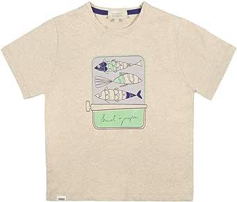 Pompon Beanie T-Shirt For BoysSize