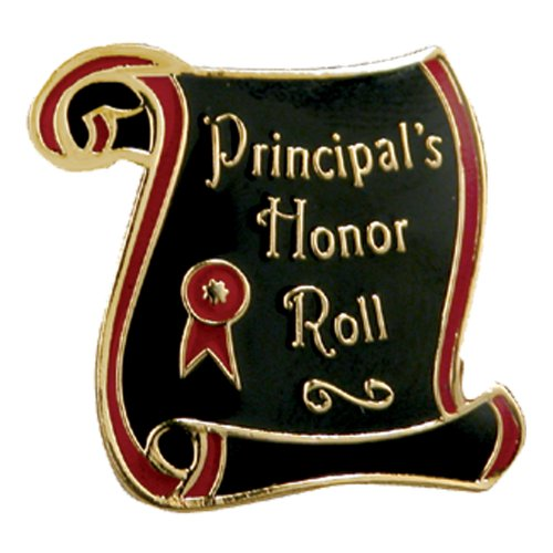 Set of 100 Lapel Pins - Principal's Honor Roll by Jones School Supply Co., Inc.