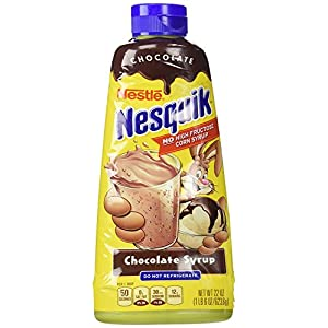 Nesquik Chocolate Syrup 22 OZ, 4 PACK