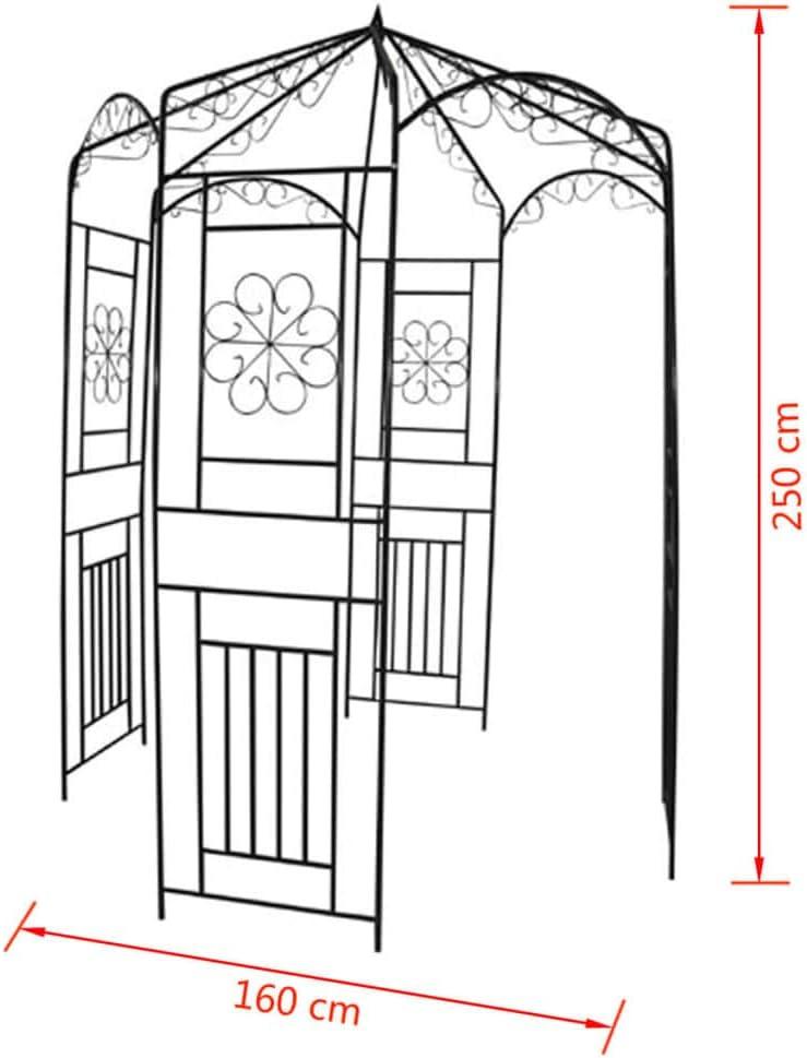 Decorations De Jardin Arche De Jardin 160 X 250 Cm Arceau A Rosiers Pergola De Jardin Decor Exterieur Jardin Terrasse Gentaecappa It