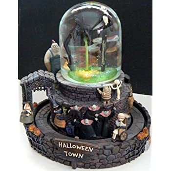 This Item Nightmare Before Christmas Musical Snow Globe