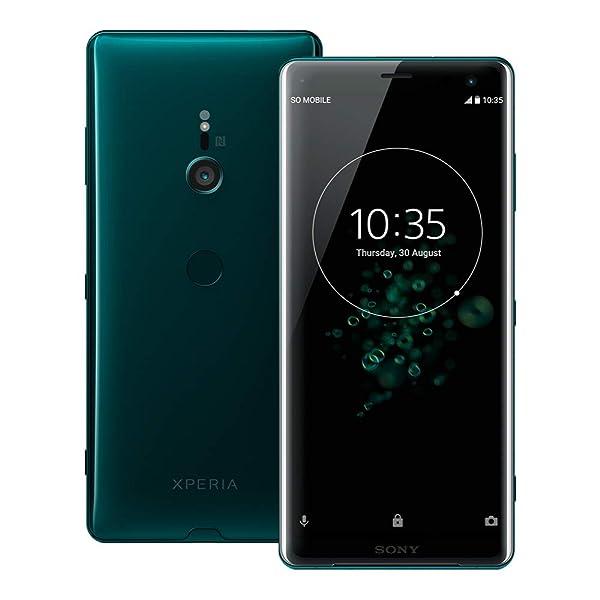 Sony Xperia XZ3 (H9493) 6GB / 64GB 6.0インチLTEデュアルSIM SIMフリー (フォレストグリーン) [並行輸入品]