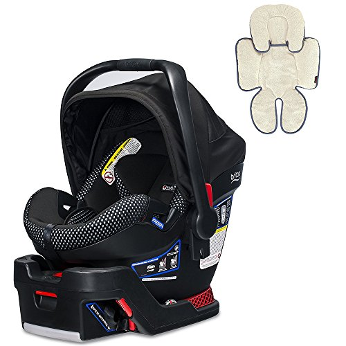 Britax B-Safe Ultra Cool Flow Infant Car Seat, Grey WIth Head and Body Support Pillow