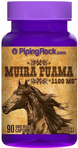 Muira Puama 1100 mg 90 Capsules