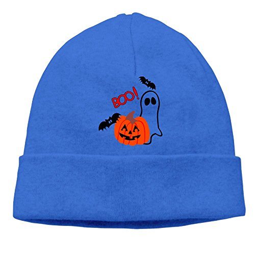 Carter Hill Happy Halloween Unisex Cool Hedging Hat Wool Beanies Cap -
