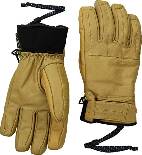 (Burton Men's Gore-Tex Gondy Leather Glove, Raw Hide W20,)